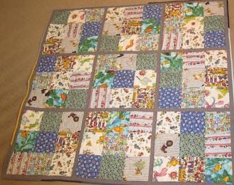 Children's Sudoku Lap quilt