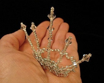 Crowns-Fairy and Doll Tiaras AND Cake Toppers One of a Kind (Made to Order )