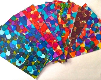 Decorative Floral Paper for Art Journaling/Scrapbooking/Paper Crafting FALL THEME