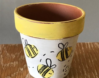 Bee Succulent Pot