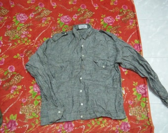 GIVENCHY paris Made in Italy shirt pit21 L25 (S3)
