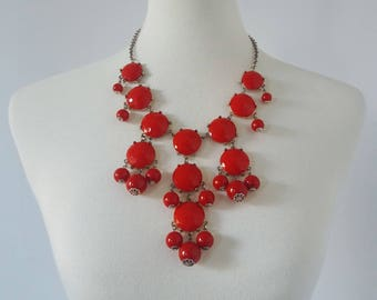 Vintage Costume Statement Necklace