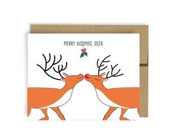Merry Kissmas, Deer