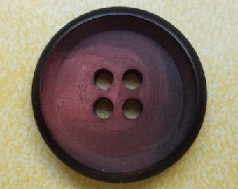 11 buttons dark red 21mm (6393) button Red