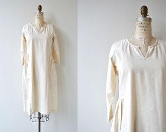 Khadi dress | vintage cotton dress | handmade cotton dress