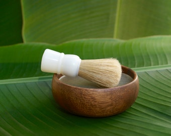 Men's Shave Soap Set with Boar's Hair Shave Brush, Shave Kit, Shave Soap, Shave Brush, Shave Bowl
