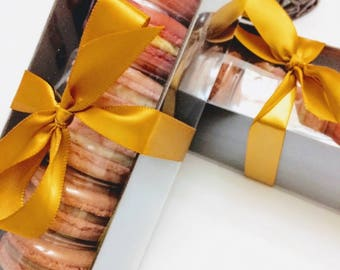 Half dozen French Macarons in Gift Box