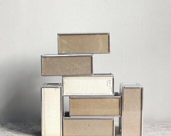 Vintage Industrial Slide Storage Boxes