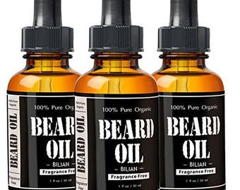 Beard organic oil leave in conditioner and hair growth Buy 1 get 1 free