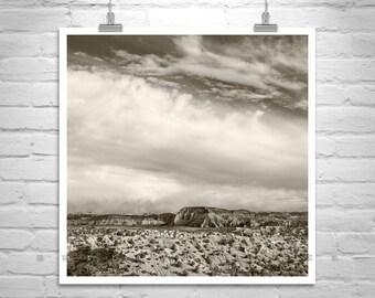 Desert Print, Southwest Landscape Art, Utah Photo, Utah Landscape, Desert Art, Western Art, Utah Gift, Western Picture, Desert Decor