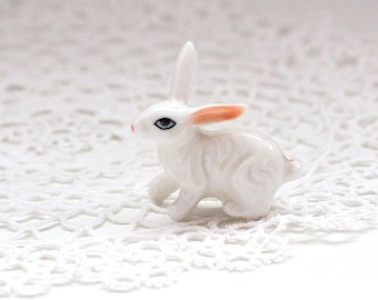 Mini Bunny Figurine, Rabbit Figurine