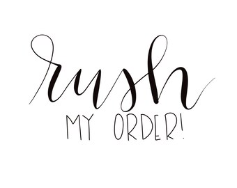 RUSH my order **Gift Bags ONLY**