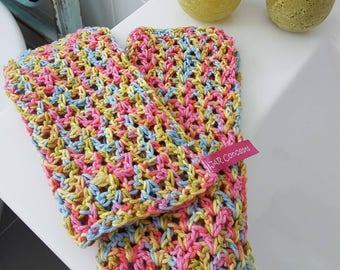 Colourful Cotton Eco dishcloth