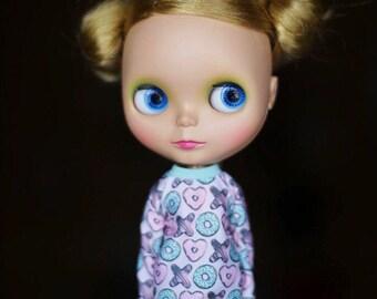 Sweatshirt for Blythe doll_Licca_Azone_jersey_long