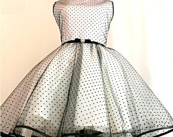 Vintage, 50's Dress, Vintage