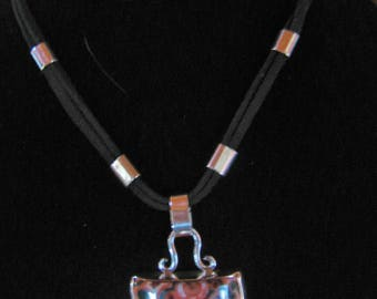 Wonderful Lake Superior Thomsonite Pendant