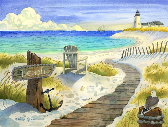 Boardwalk to the Lighthouse