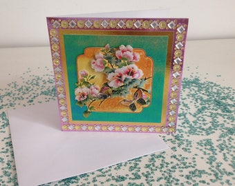 Handmade Unicorn Card