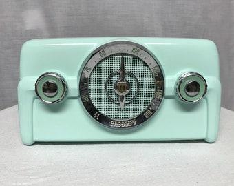 1950 Crosley 10-139 Vintage Retro Dashboard Tube Radio With Bluetooth Input