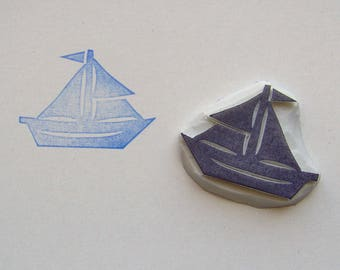 Sail boat rubber stamp, Sail boat stamp, boat stamp, Sailing boat stamp, ship stamp, sea stamp, ocean stamp, lake stamp, summer stamp, wrap