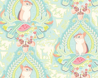 Morning Glen Blue - Haven - Stacy Peterson for Blend Fabrics - Quilters Cotton Fabric