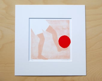 Ball trap/number 2; artprint incl. passepartout 20x20cm (limited edition)