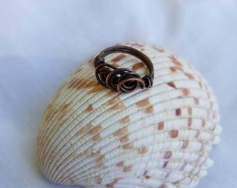 Copper Ring Size 5 1/2