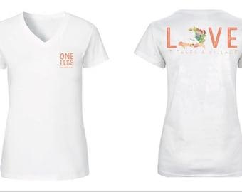 WOMEN'S Haiti Adoption Fundraiser T-shirt