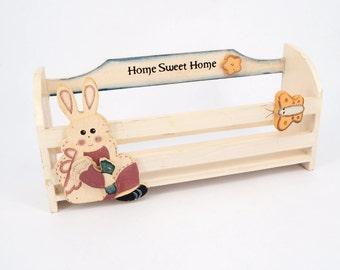 Home Sweet home wall basket