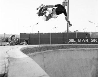 Tony Hawk Skateboarding Photo Del Mar Skate Ranch By Grant Brittain