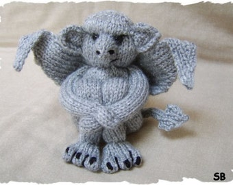My Little Gargoyle  :  Pattern only IMMEDIATE DOWNLOAD