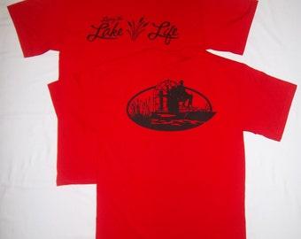 Men's Living the Lake Life Airboat shirt