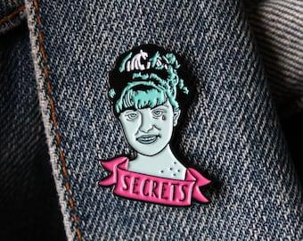 Secrets- Laura Palmer Twin peaks soft enamel pin badge