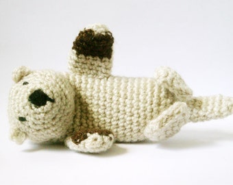 Amigurumi Pattern Crochet Sea Otter