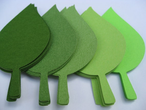 300 Apple Leaves. 4 inch. CHOOSE YOUR COLORS. Wedding Escort Cards, Favor, Place Tags, Gift Tags, Wishing Tree.