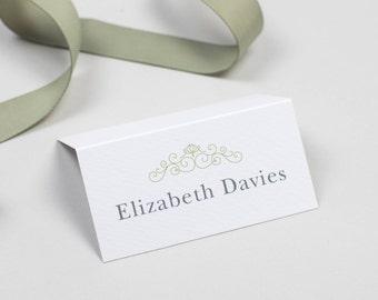 Eva Wedding Name Place Card