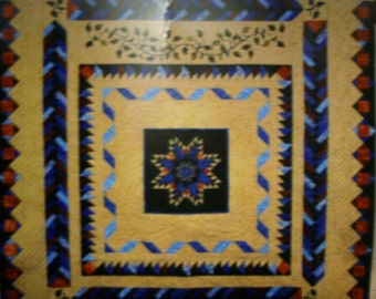 "Lilly Hill Creations Quilt Pattern Moonlight Dreams Size 95"" x 102"""