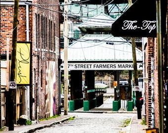 Farmers Market, Fine Art Print, RVA Photography, RVA Prints, City Prints, 17th Street.