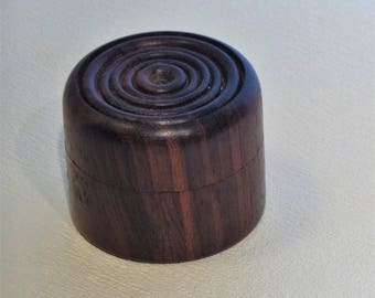 Rosewood earring box