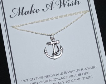 Anchor Nautical Wish Necklace - Buy 3 Items, Get 1 Free
