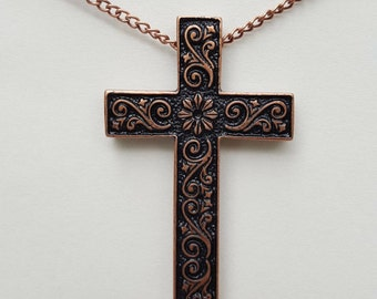 Bronze and Black Cross