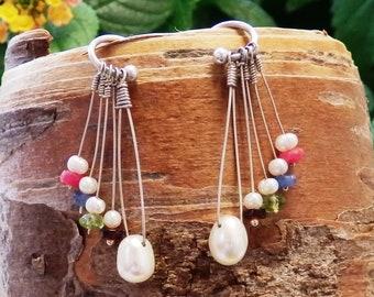 Freshwater Pearl & Gemstones
