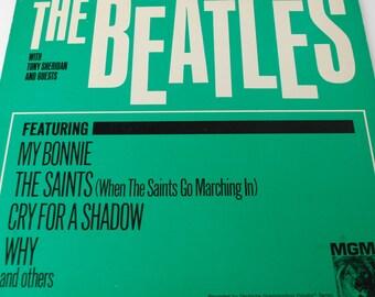 The Beatles Vinyl LP Record Featuring My Bonnie
