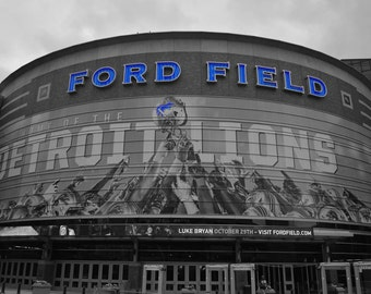 Ford Field Detroit, Michigan- Photography Prints