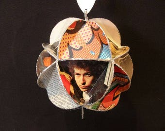Custom Made Album Cover Ornament Made From Record Jackets - You Choose Artists