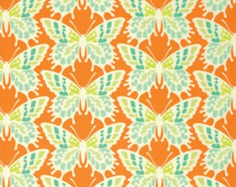 Clementine Flutterby Tangerine by Heather Bailey for Free Spirit