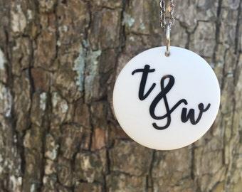 You & Me Pendant Necklace