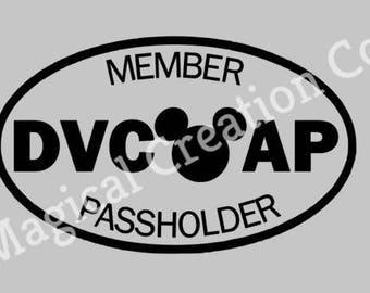 Disney DVC and AP Decal