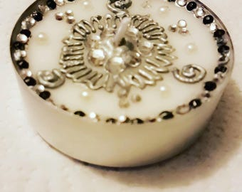 Jumbo tealight candle set of 2