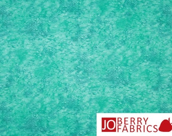 Teal Tonal Fabric, Splash by Blank Quilting, Quilt or Craft Fabric, Fabric by the Yard